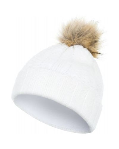 Вязаная шапка с помпоном спортивная Glissade