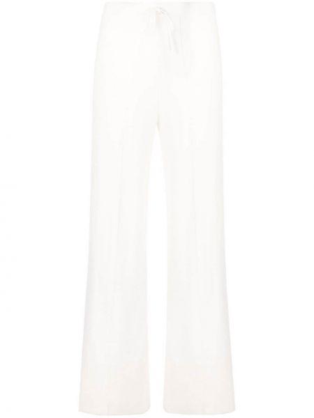 Кашемировые белые брюки с карманами N.peal