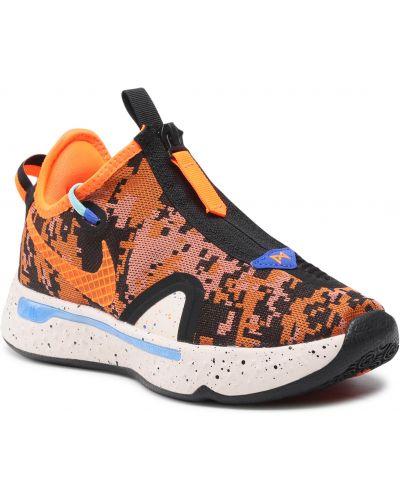 Półbuty - pomarańczowe Nike