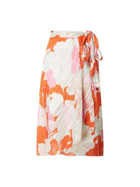 Spodnie materiałowe - pomarańczowe Ilse Jacobsen
