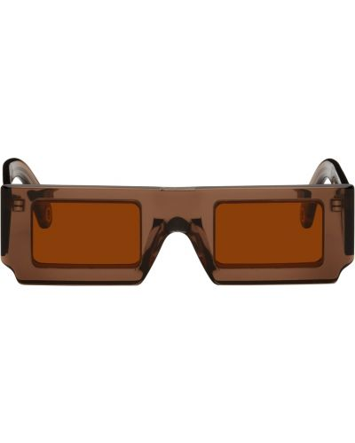Okulary srebrne - pomarańczowe Jacquemus