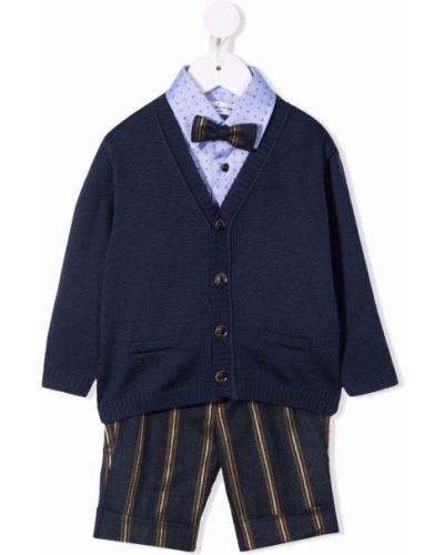 Niebieski klasyczny garnitur Colorichiari