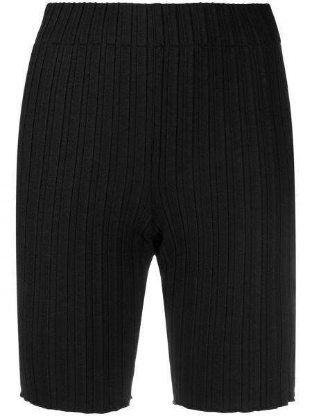 Bielizna czarny szorty wysoki wzrost w połowie kolana Simon Miller