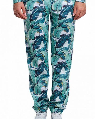 Бирюзовые спортивные брюки Fusion
