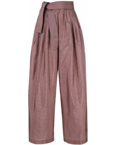 Свободные брюки с завязками Tome