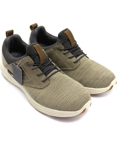 Кожаные кроссовки - бежевые Dockers By Gerli