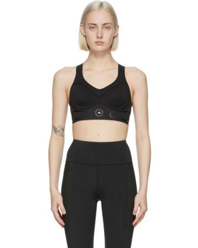 С ремешком черный лиф на бретелях Adidas By Stella Mccartney