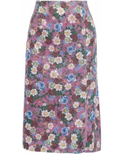 Spódnica tiulowa - fioletowa Erdem