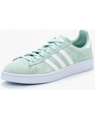 Бирюзовые низкие кеды Adidas Originals