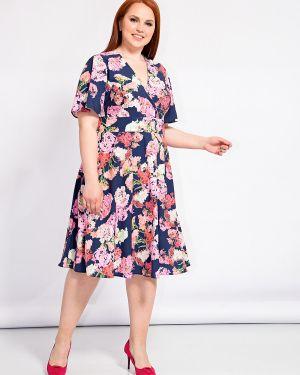 Летнее платье с запахом с цветочным принтом Dora
