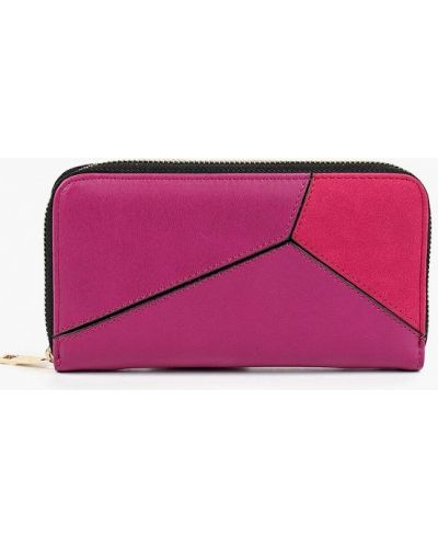 Розовый кошелек Zarina