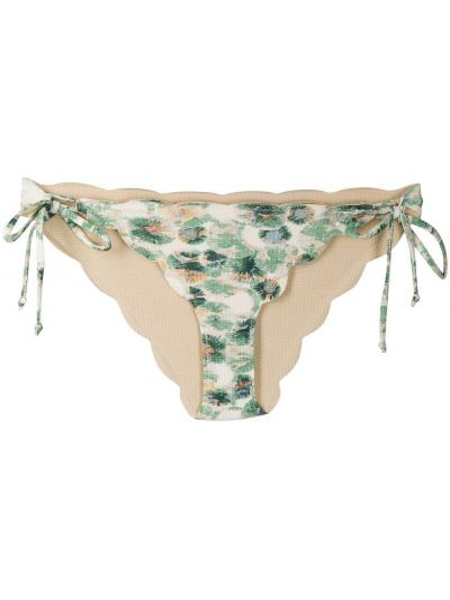 Зеленые пляжные бикини с завязками Marysia