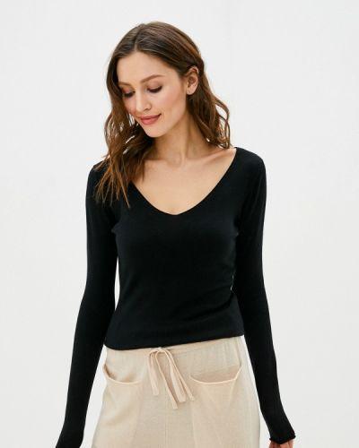 Черный пуловер Tantra