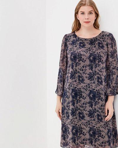 Фиолетовое платье весеннее Kr