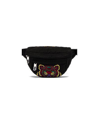 Поясная сумка с вышивкой нейлоновая Kenzo