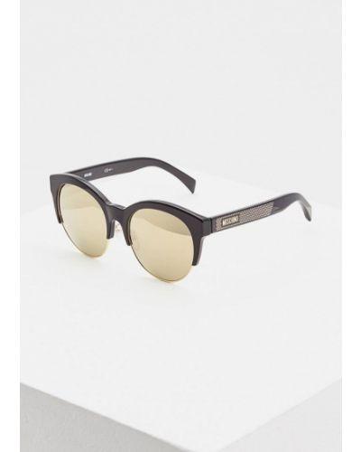 Солнцезащитные очки 2019 круглые Moschino
