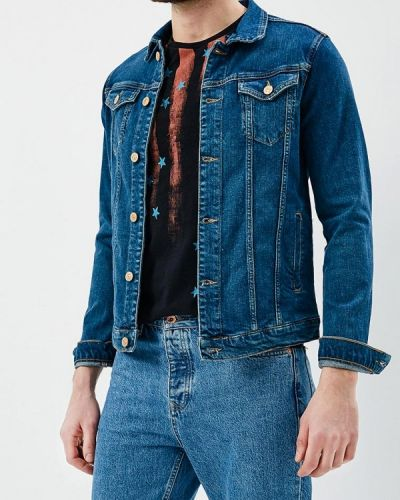 Джинсовая куртка синяя Colin's