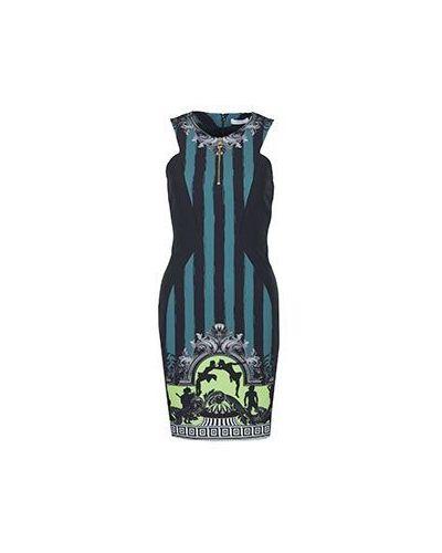 Платье из полиэстера - зеленое Versace Collection