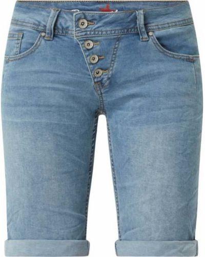Niebieskie szorty jeansowe bawełniane Buena Vista