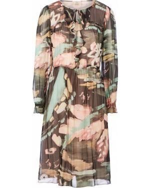 Платье расклешенное с длинными рукавами Vera Moni