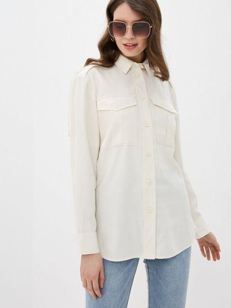 Рубашка с длинным рукавом белая United Colors Of Benetton