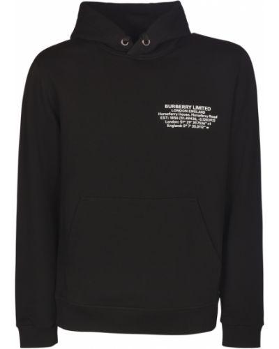 Czarna bluza Burberry