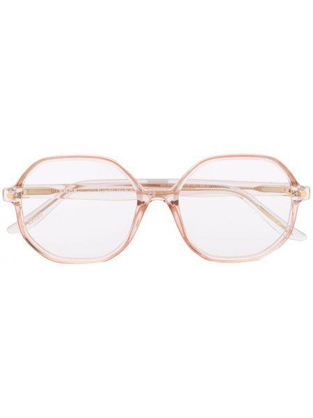 Złote różowe okulary Snob
