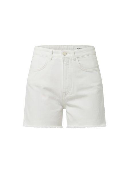 Szorty jeansowe - białe Marc O'polo Denim