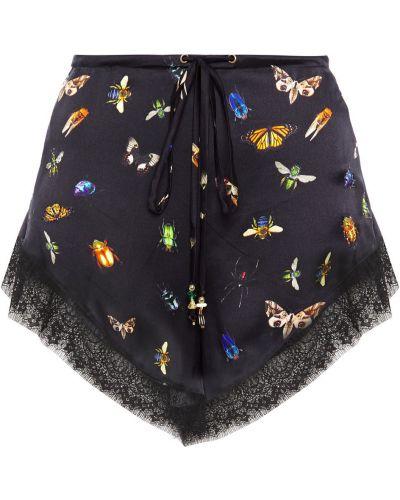 Кружевные шорты - черные Camilla