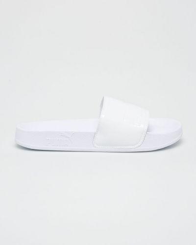 Белые сандалии текстильные Puma