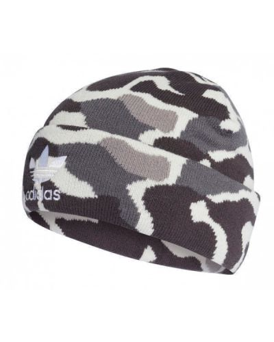 Prążkowana czapka dzianinowa Adidas