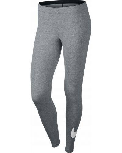 Klasyczne szare legginsy bawełniane Nike