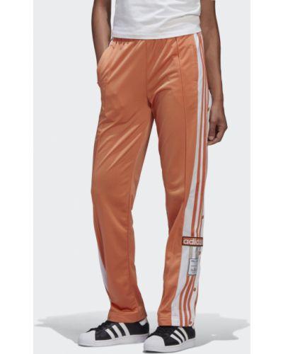 Спортивные брюки с манжетами на кнопках Adidas