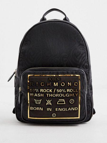 Черный рюкзак John Richmond