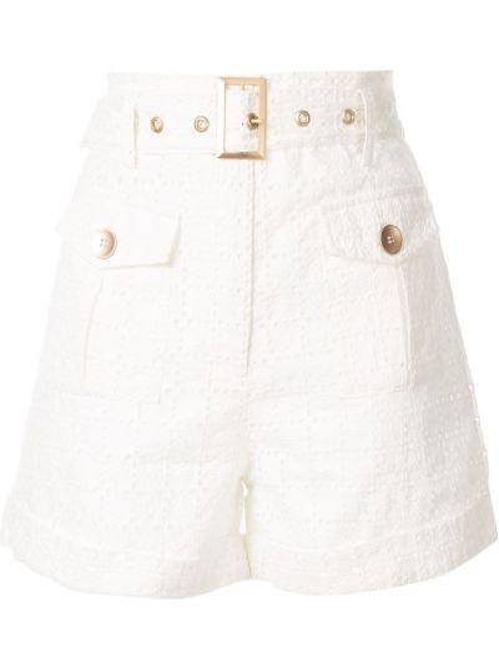 Белые шорты с карманами We Are Kindred