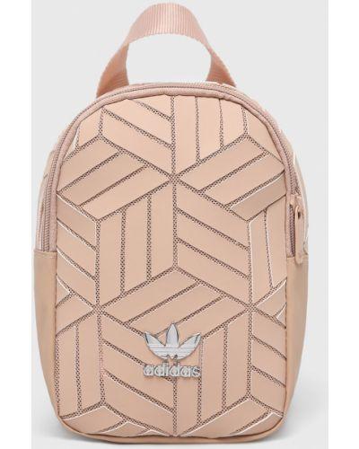 Кожаный рюкзак с подкладкой розовый Adidas Originals