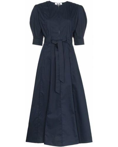 Платье миди с поясом на молнии Ten Pieces