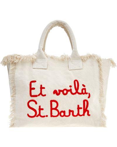 Пляжная сумка с вышивкой сумка-тоут Mc2 Saint Barth