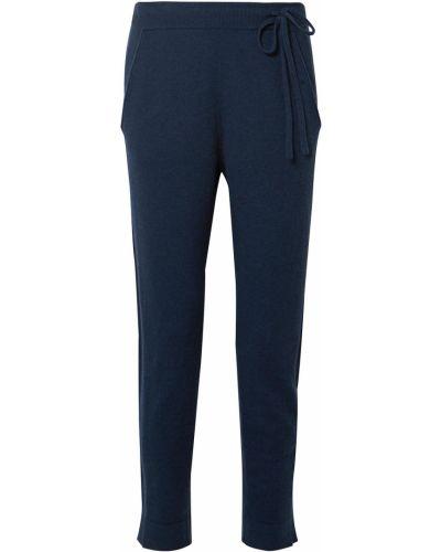Niebieskie spodnie Akris