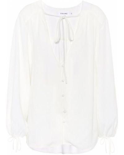 Блузка батник белая Frame