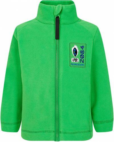 Зеленая спортивная толстовка Poivre Blanc