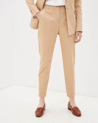Повседневные бежевые брюки Naf Naf
