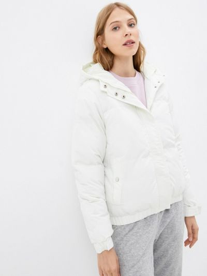 Белая зимняя куртка Brave Soul