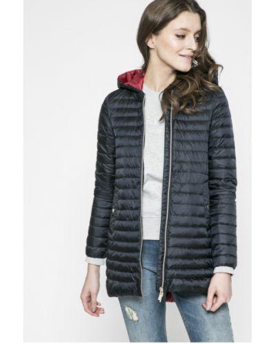 Стеганая куртка утепленная с капюшоном облегченная Geox