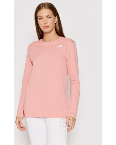 Różowa bluzka The North Face
