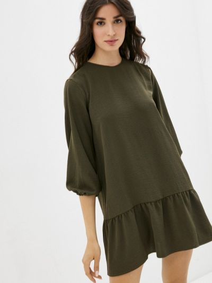 Зеленое вечернее платье Be Main