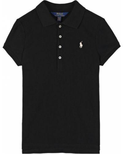 Поло с логотипом с принтом Polo Ralph Lauren