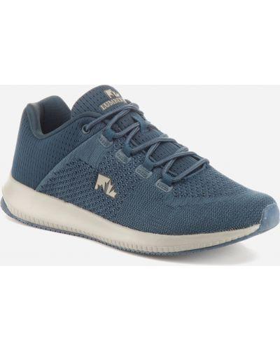 Кожаные кроссовки - синие Lumberjack