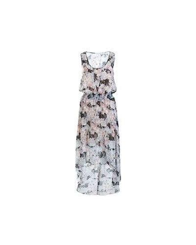 Вечернее платье летнее серое Patrizia Pepe