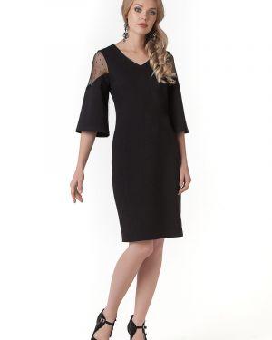Платье сетчатое с V-образным вырезом Zip-art